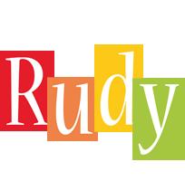 Rudy colors logo