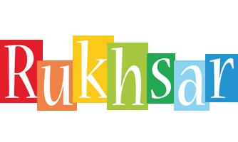 Rukhsar colors logo