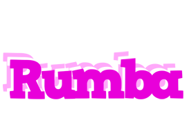 RUMBA logo effect. Colorful text effects in various flavors. Customize your own text here: http://www.textGiraffe.com/logos/rumba/
