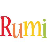 Rumi birthday logo