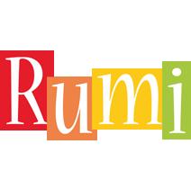 Rumi colors logo