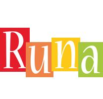 Runa colors logo