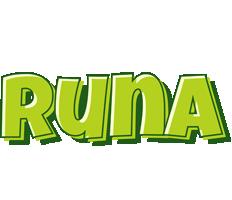 Runa summer logo