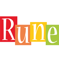 Rune colors logo