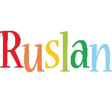 Ruslan birthday logo