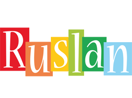 Ruslan colors logo
