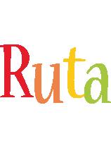Ruta birthday logo