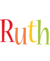 Ruth birthday logo