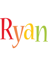 Ryan birthday logo