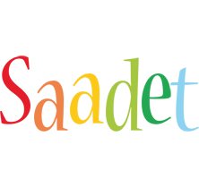 Saadet birthday logo