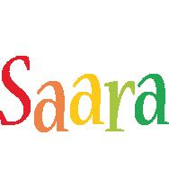 Saara birthday logo