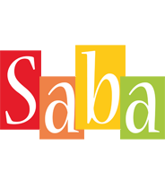 Saba colors logo