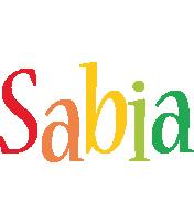 Sabia birthday logo
