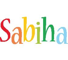 Sabiha birthday logo
