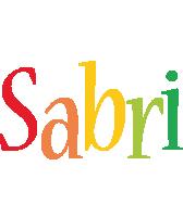 Sabri birthday logo