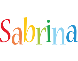 Sabrina birthday logo