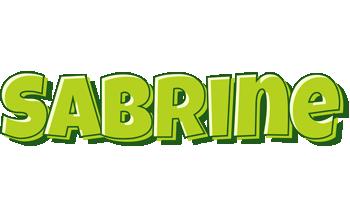Sabrine summer logo