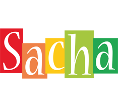 Sacha colors logo