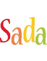 Sada birthday logo