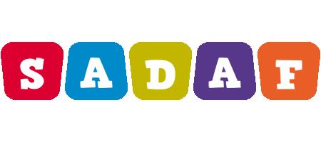 Sadaf kiddo logo