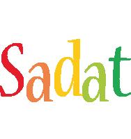 Sadat birthday logo