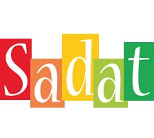 Sadat colors logo