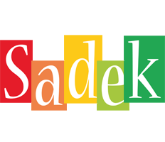 Sadek colors logo