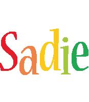 Sadie birthday logo