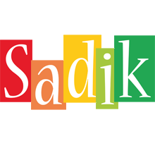 Sadik colors logo