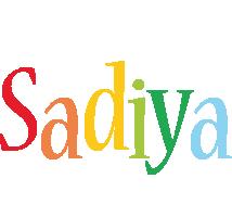 Sadiya birthday logo