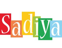 Sadiya colors logo