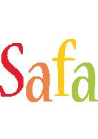 Safa birthday logo