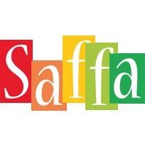 Saffa colors logo