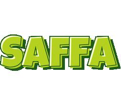 Saffa summer logo