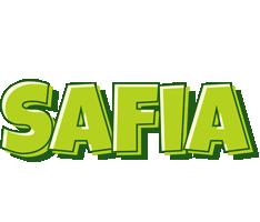 Safia summer logo