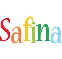 Safina birthday logo