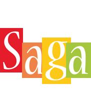 Saga colors logo