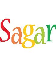 Sagar birthday logo