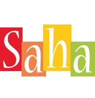 Saha colors logo