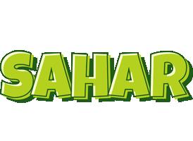 Sahar summer logo