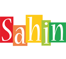 Sahin colors logo