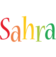 Sahra birthday logo