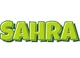 Sahra summer logo