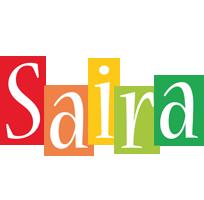 Saira colors logo