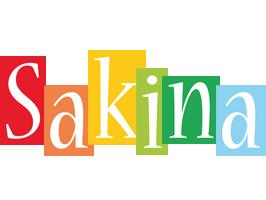 Sakina colors logo