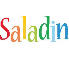 Saladin birthday logo