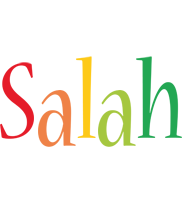 Salah birthday logo