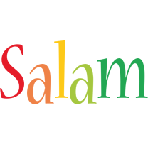 Salam birthday logo