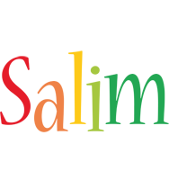 Salim birthday logo