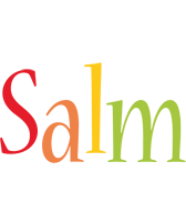 Salm birthday logo